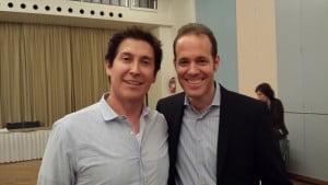 Bruno Erni mit Gary Quinn ist Bestsellerautor,