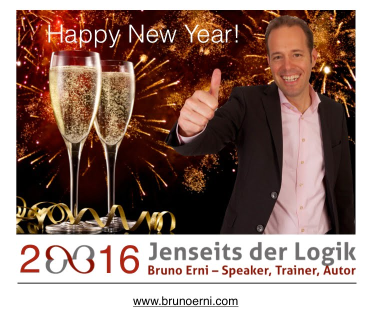 Happy New Year 2016 Bruno Erni
