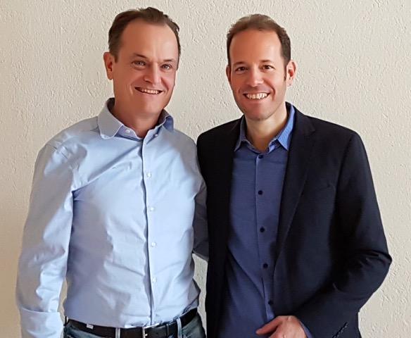 Dr. med. Mathias Kühlen und Bruno Erni