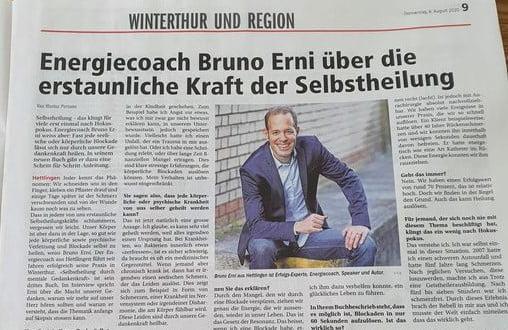 Kraft der Selbstheilung Bruno Erni